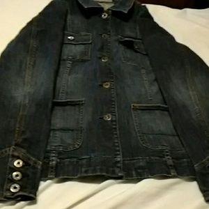 Liz Claiborne women's jean jacket